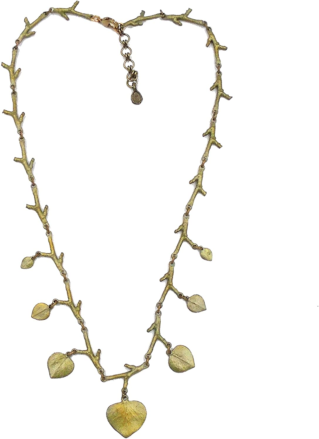 Michael Michaud Ours Exclusively Eucalyptus Leaf Necklace for Silver Seasons…