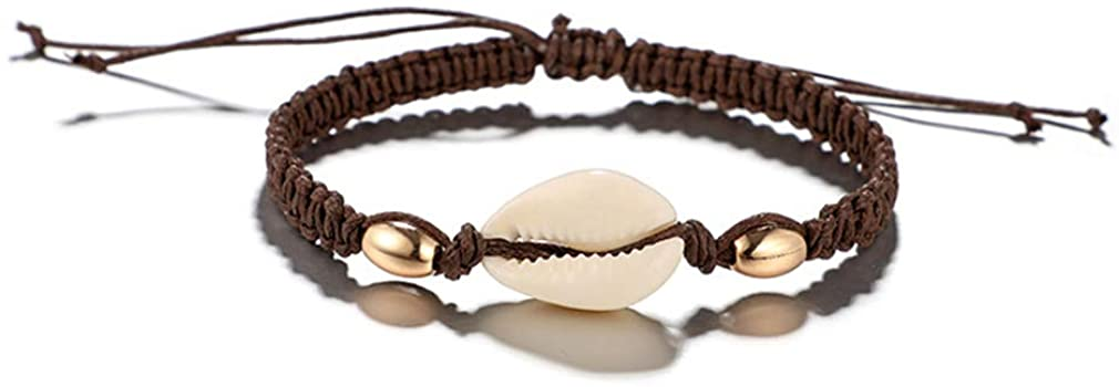 YAZILIND Fashionable Friendship Bracelet Simple Shell Conch Rope Anklet Women Jewelry