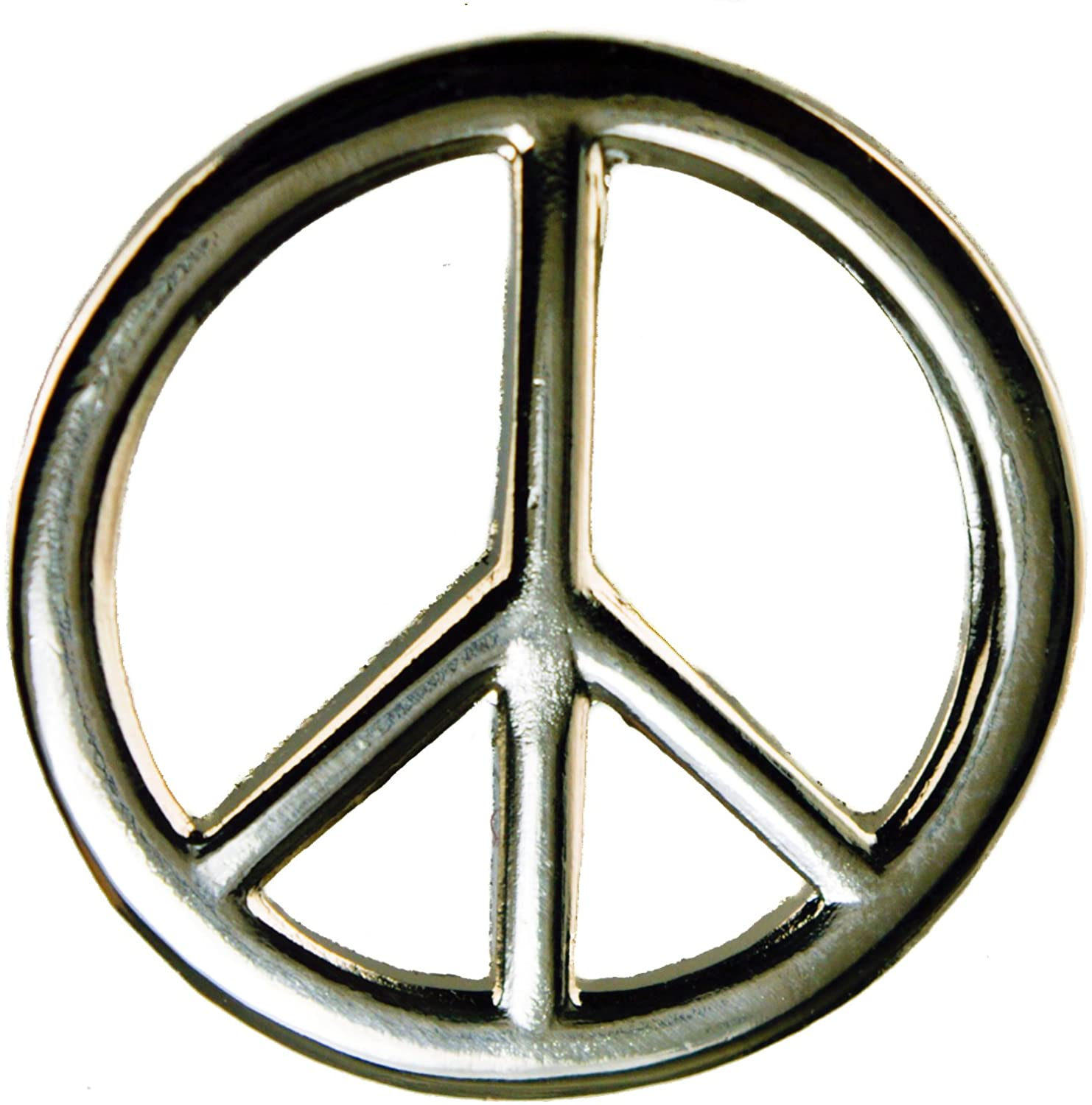 Sujak Military Items Peace Sign Hat Lapel Pin HON6833