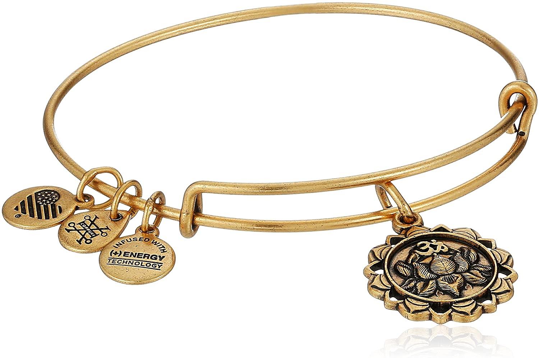 Alex and Ani Lotus Peace Petals IV Bangle Bracelet