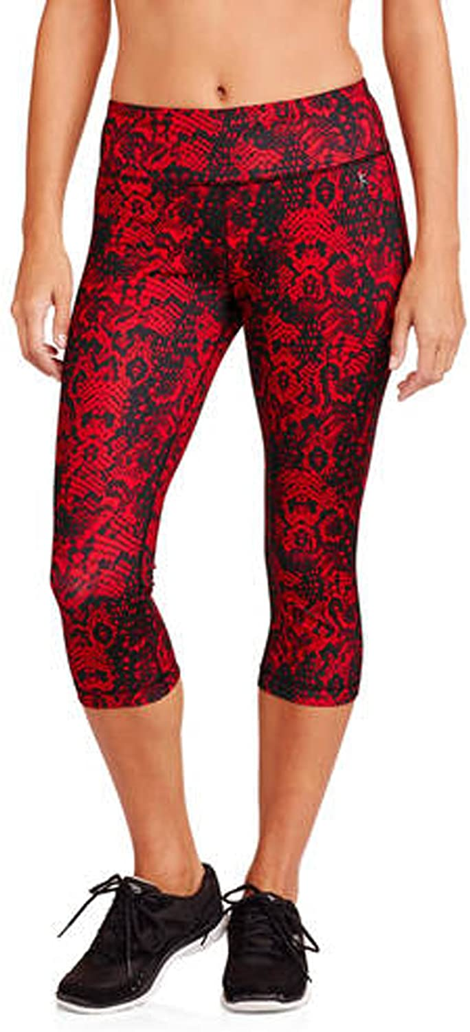 Danskin Now Women's Printed Capri Tights