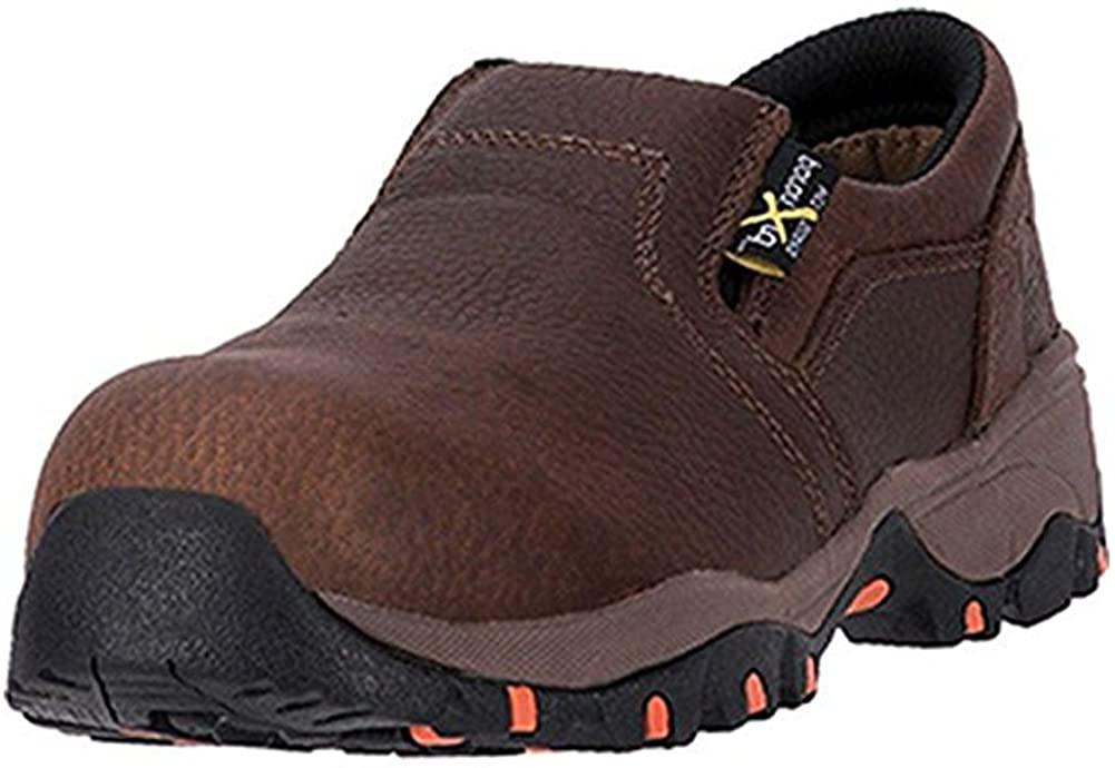 McRae Industrial Work Shoes Womens Met Guard 11 W Brown MR41704