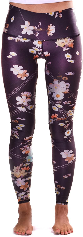 Teeki, Women's Hot Pants or Leggings, Wildflower Pattern