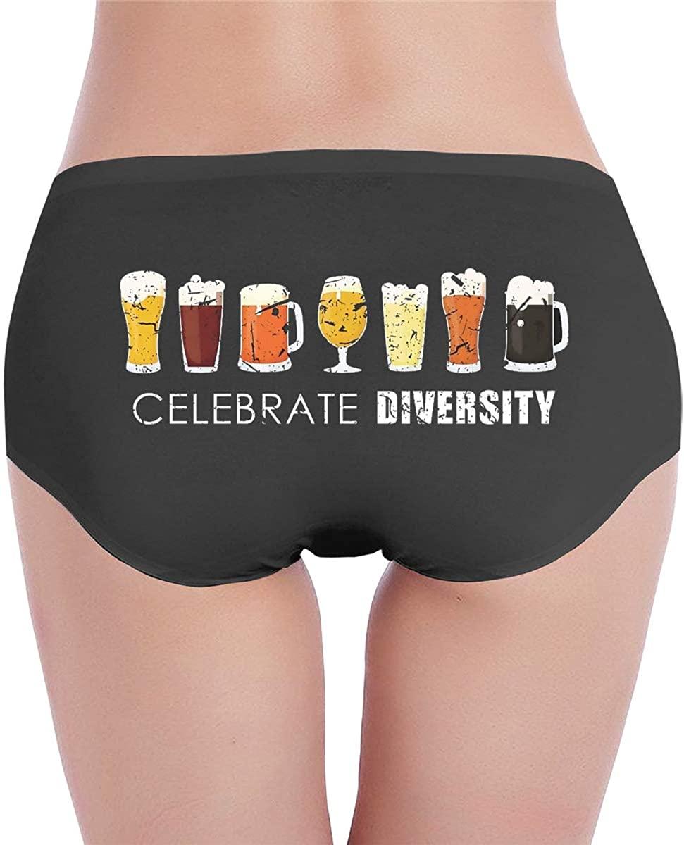 Celebrate Diversity Hipsters Sexy Low-Waist Briefs Panties Thong Underwear For Women Underwear