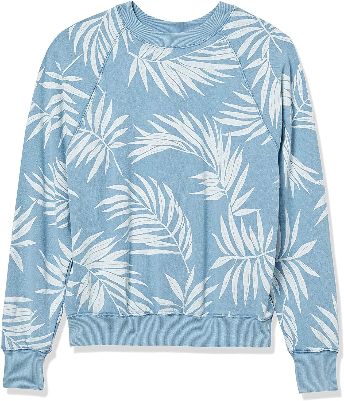 Billabong Women's Wild Palms Crew Neck Sweatshirt