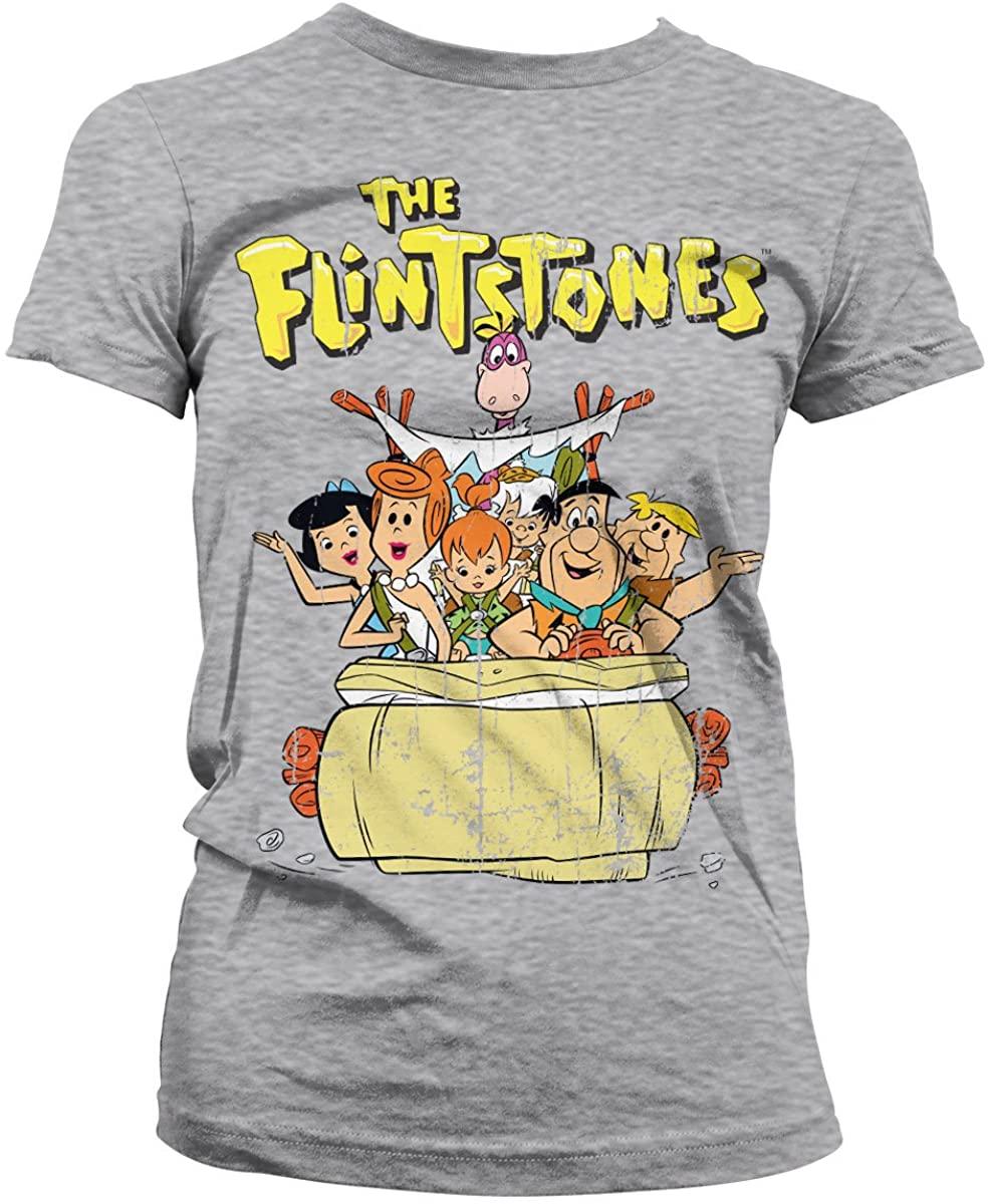 The Flintstones Officially Licensed Women T-Shirt