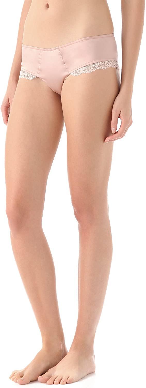 Zinke Intimates Women's Lace Trim Parker Panty, Medium, Blush