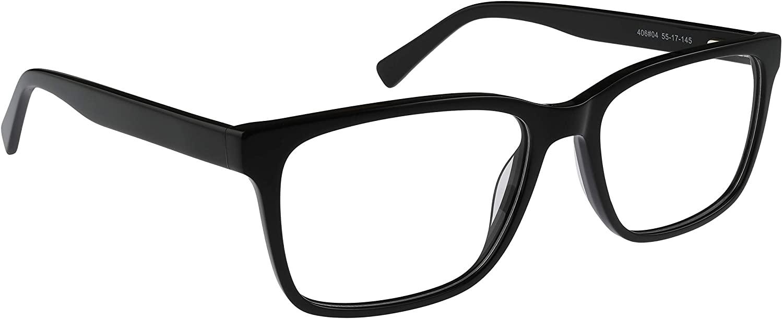 Bocci Unisex Eyeglasses 406 Full Rim Optical Frame 55mm