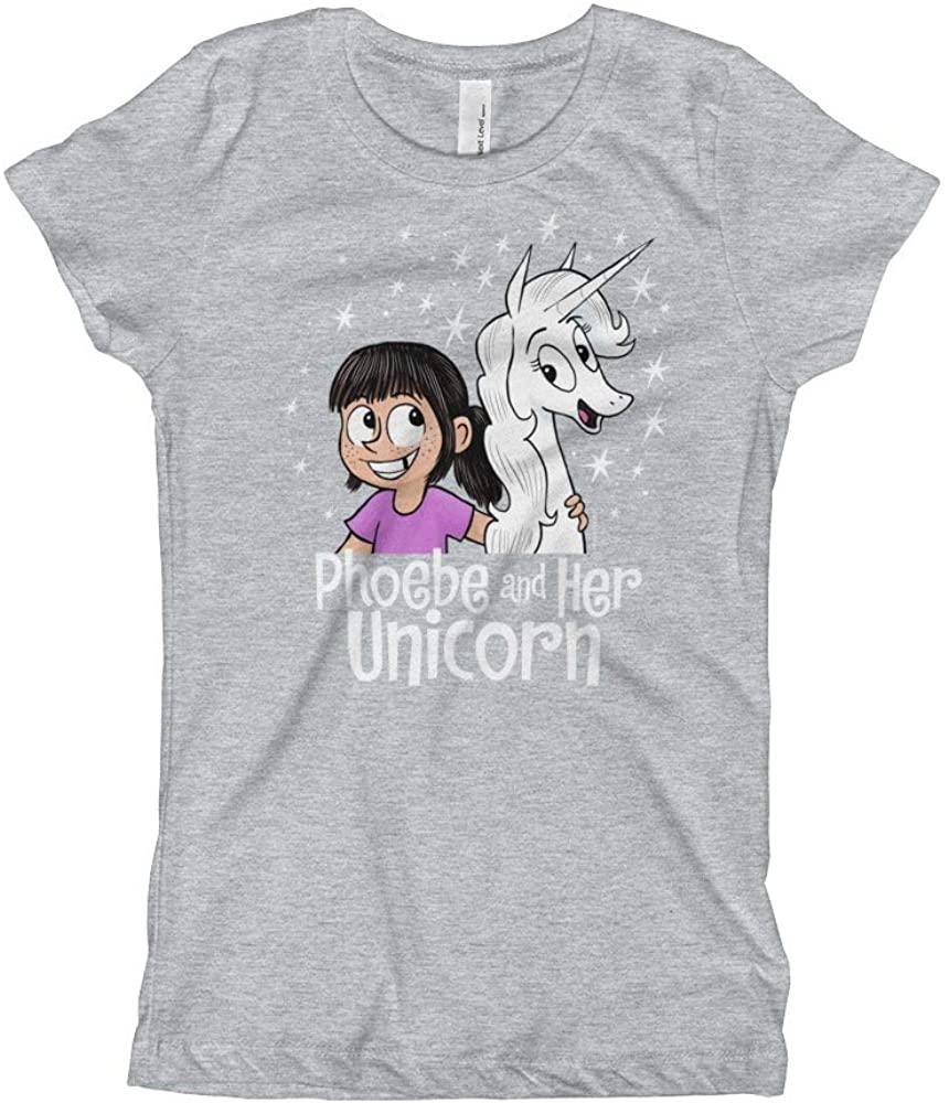 Phoebe and Her Unicorn Girl's Slim Fit Friendship T-Shirt