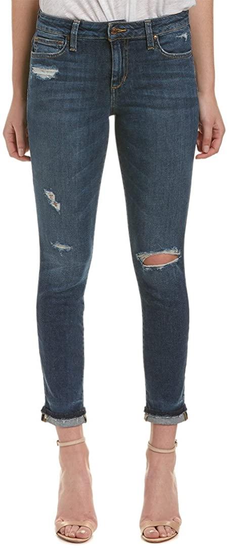 Joe's Womens Markie Cuffed Cropped Jeans