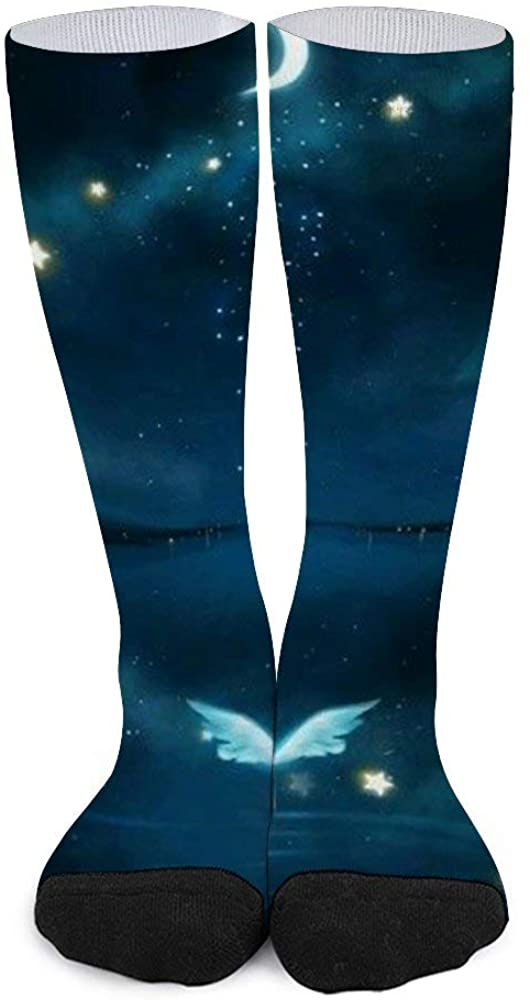 Unisex Color Matching Stockings Angel from The Moon