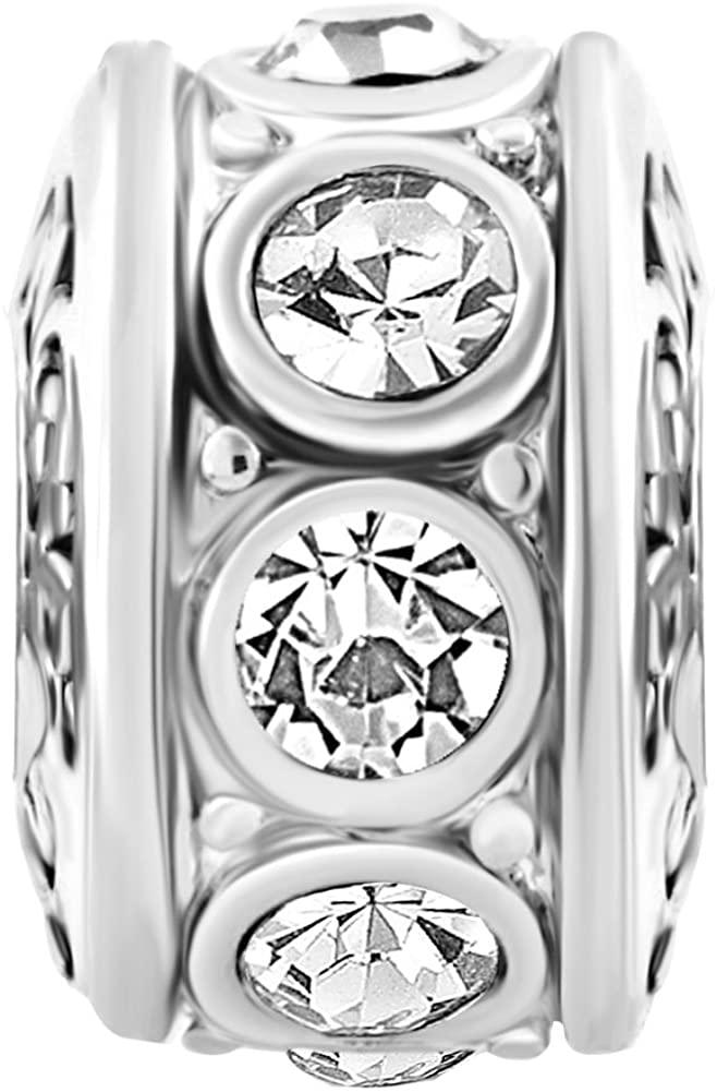 ShinyJewelry Spacer Charm Beads for Bracelets