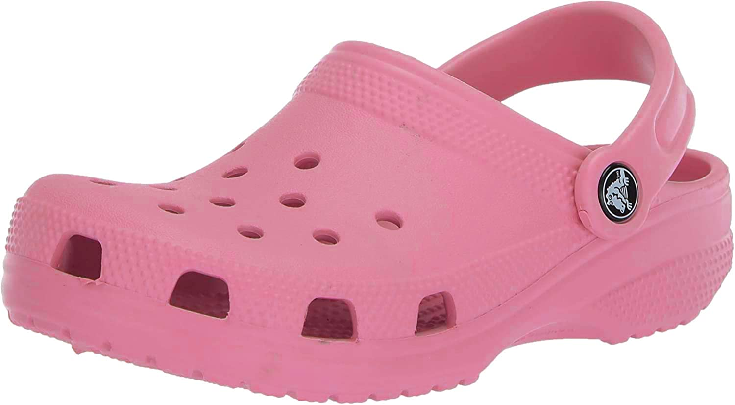 Crocs Classic Clog|Comfortable Slip On Casual Water Shoe, pink lemonade, 4 US Women / 2 US Men Medium US