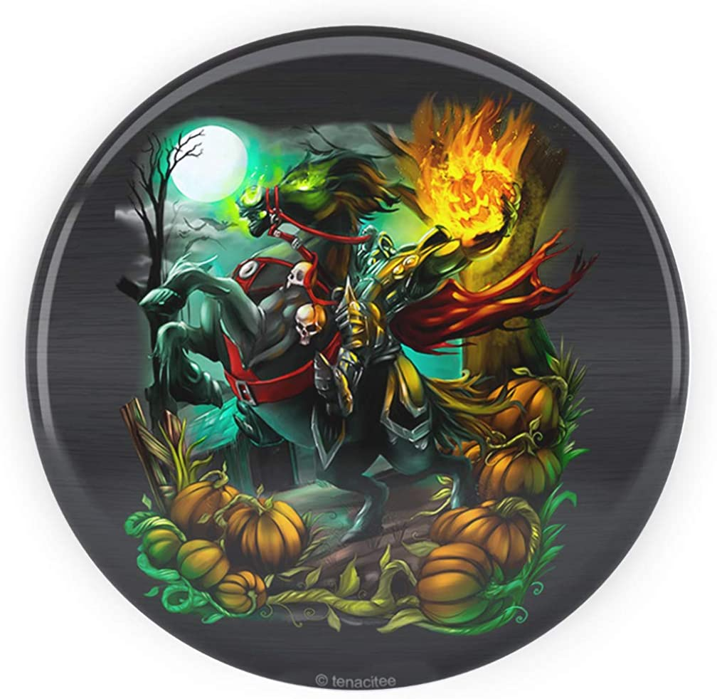 Tenacitee Headless Horseman Pinback Button