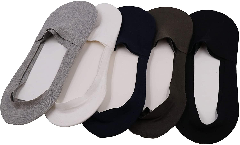 5 Pairs Womens Thick Knit Wool White black Socks