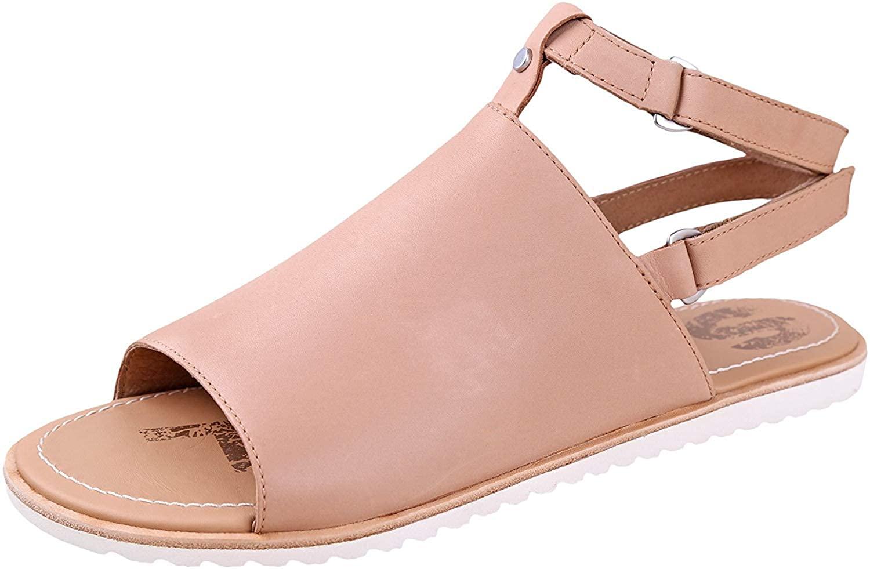 Sorel Ella Mule Strap Sandal Womens Shoes Size 6, Color: Sahara