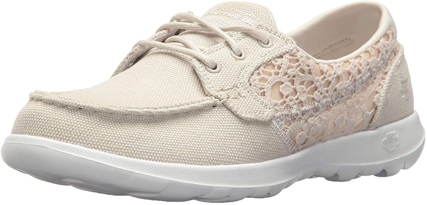 Skechers Women's Go Walk Lite-15431 Boat Shoe