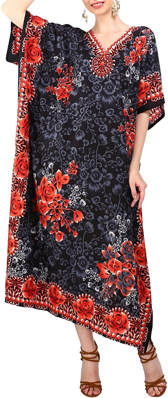 Miss Lavish London Ladies Kaftans Kimono Maxi Style Dresses Suiting Teens to Adult Women in Regular to Plus Size