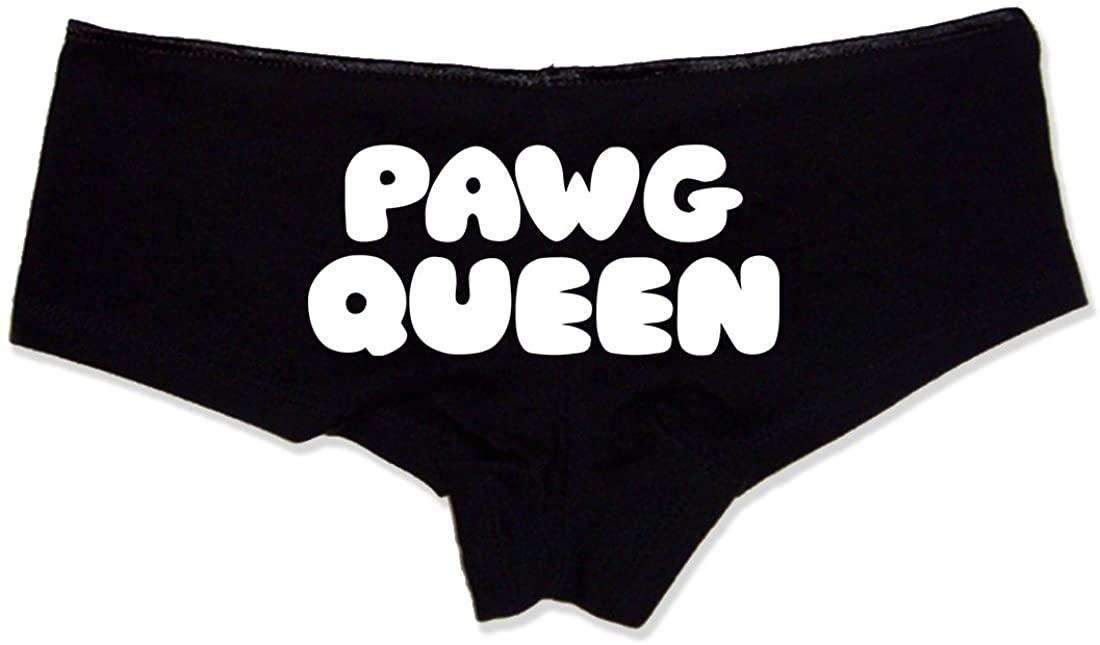PAWG Queen Booty Shorts Boyshort Cotton Bikini Bottom Sexy Panties