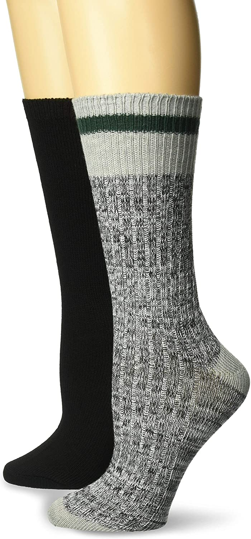 Steve Madden Womens 2-Pack Boot Speckle/Heel Toe