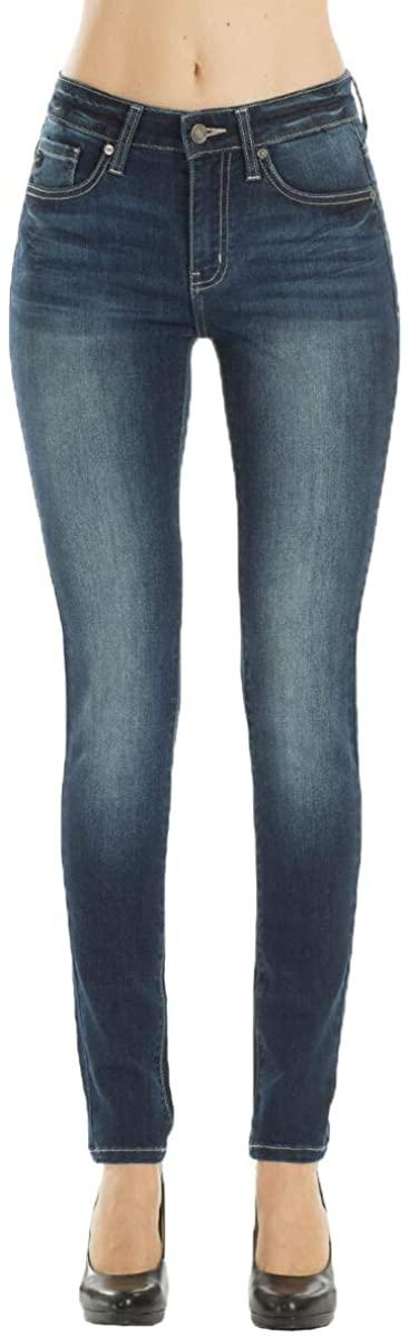 Kan Can Women's Mid Rise Super Skinny Jeans - Basic - KC7085 LD 11/29
