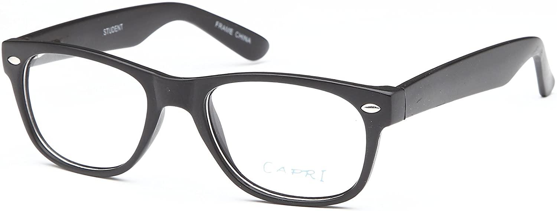 Fashion Wayfarer Rx-able Eyeglasses For Men and Women