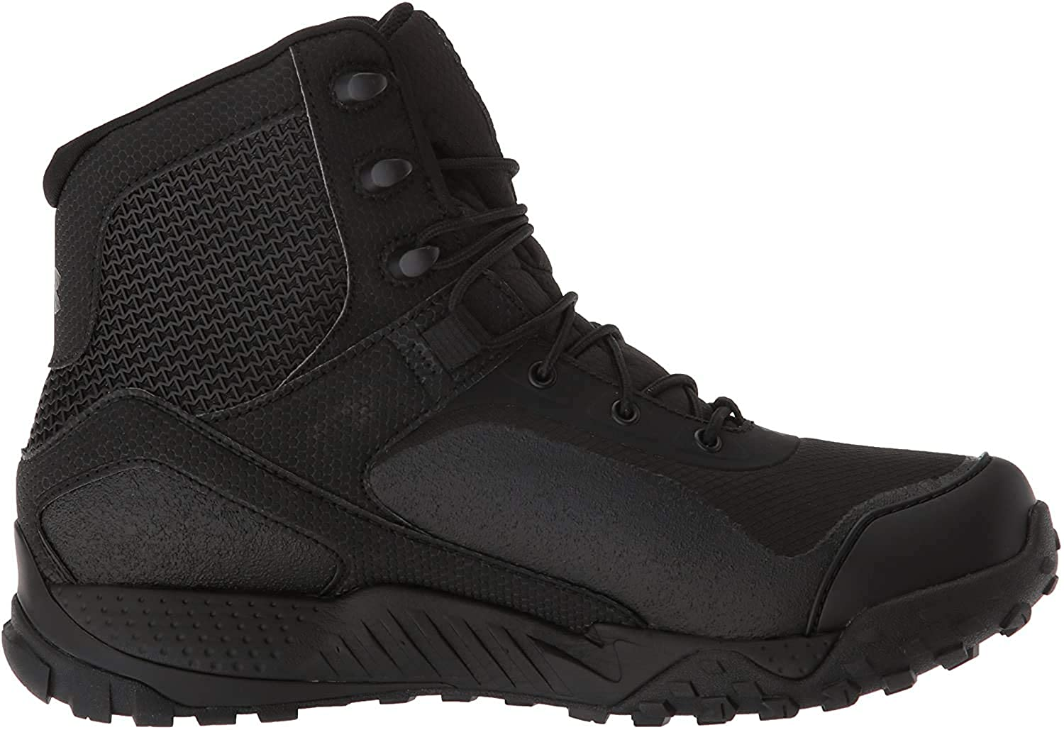 Under Armour Boys' Speedform Slingwrap Military and Tactical Boot, Black (002)/White, 13