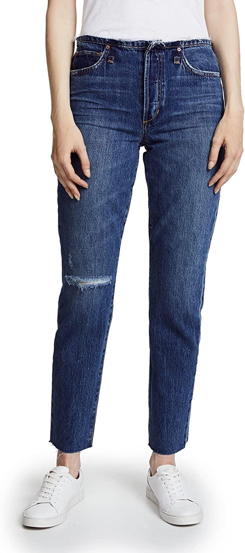 Joe's Jeans Women's Kass Mid-Rise Straight Ankle Jean
