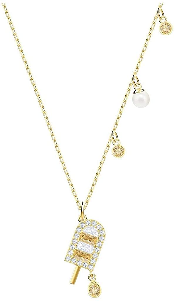 SWAROVSKI No Regrets Ice Cream Pendant, Gold Plating, 5465294