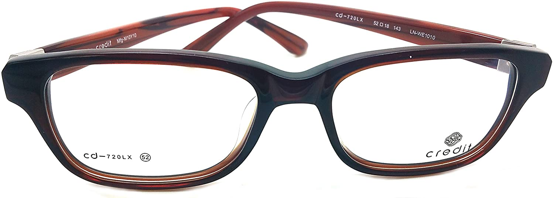 Credit Prescription Eye Glasses Frame, Plastic Fashionable Frames Cd-720LX C3