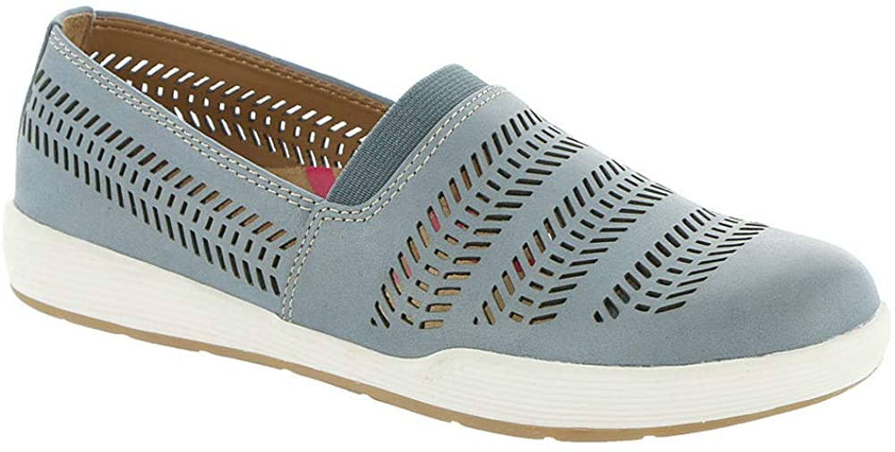 Comfortiva Womens Loring Suede Slip On Casual Shoes
