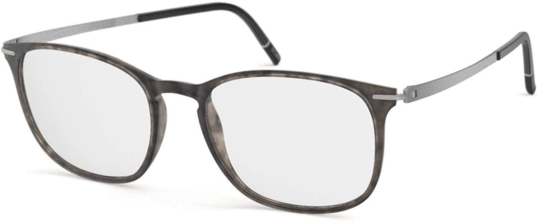 Silhouette Eyeglasses MOMENTUM Fullrim 2920 (Slate Brown/Rhodium 52mm-17mm-140mm)