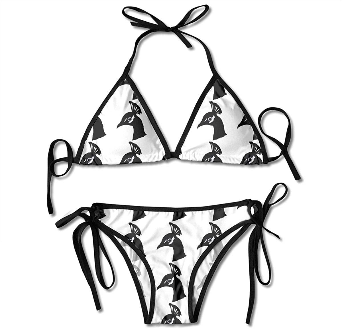 DoubleHappy Strawberry Fruit. Women Swimsuits Bikinis Beach Thong Swimwear