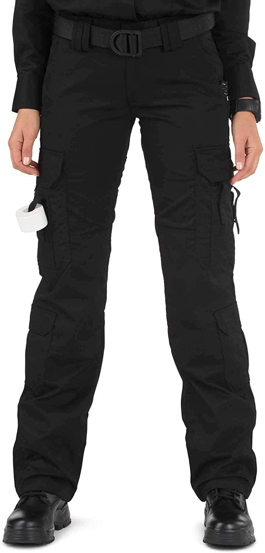 5.11 Tactical Women's Taclite EMS Pants, Black, 8/Long