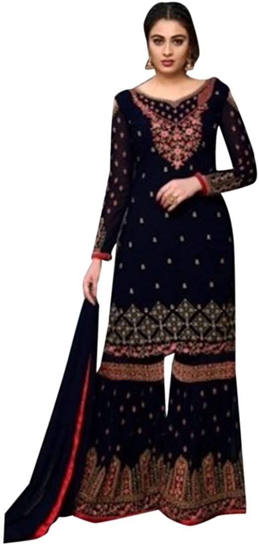 Designer Festival Bollywood Collection Straight Kameez Garara Custom to Measure festive party wear Ceremony Sharara Muslim 2786 8