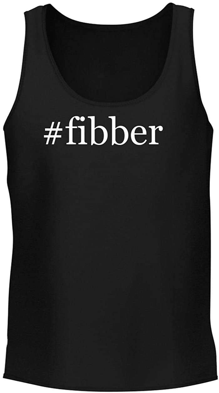 #fibber - Men's Soft & Comfortable Hashtag Tank Top