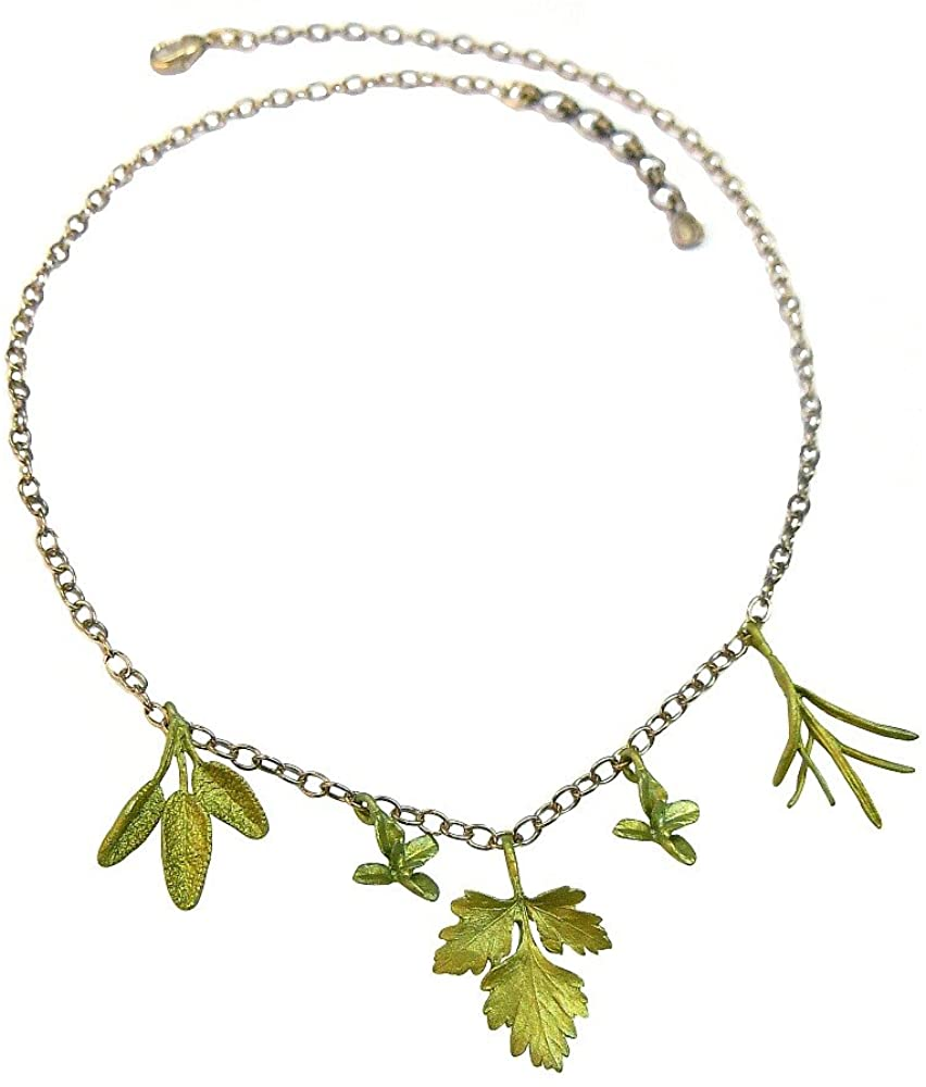 Michael Michaud Petite Herb Charm Necklace 8955
