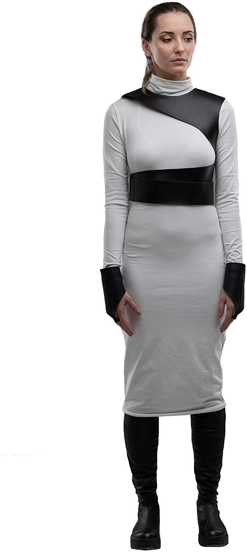 MDNT45 Women's Harness Belt Black Leather Belt, Casual Bondage Corset, Women Sword Belt, Gothic Fashion