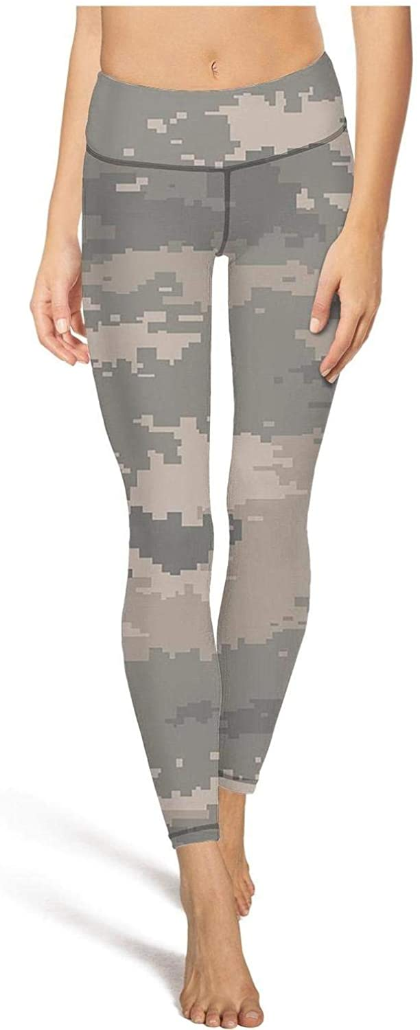WCAO Women's Military Camo Camouflage Texture High Waist Yoga Pants Jogging Leggings Colorful Tights