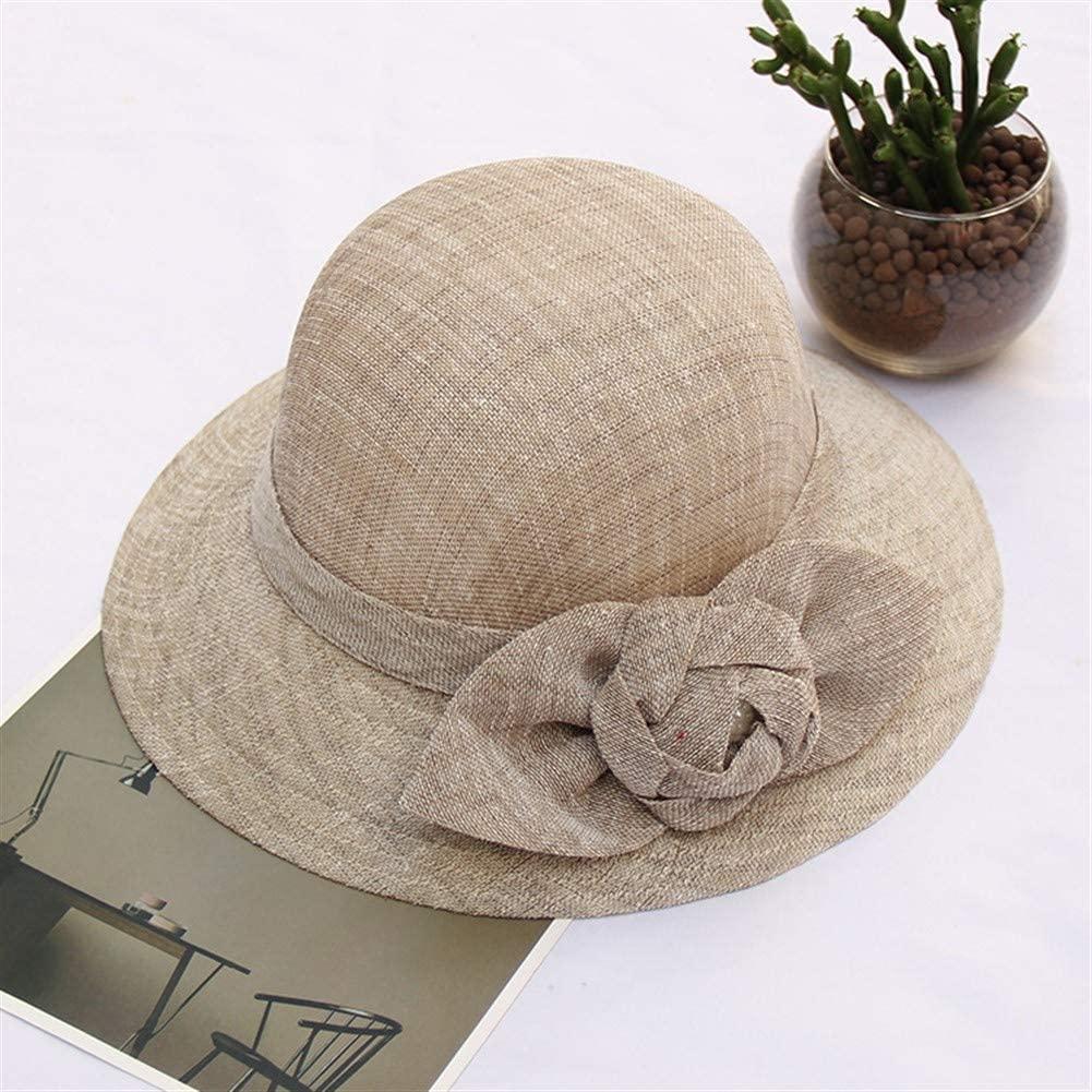 MADONG The New 2019 Summer Sun hat Female Korean Fashion Cotton Flower hat Beach hat Summer hat Thin Section