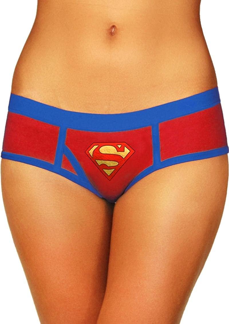 Superman Boyshort with Foil Logo