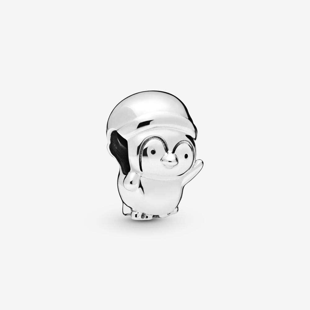 PANDORA Christmas Penguin 925 Sterling Silver Charm - 798477C00
