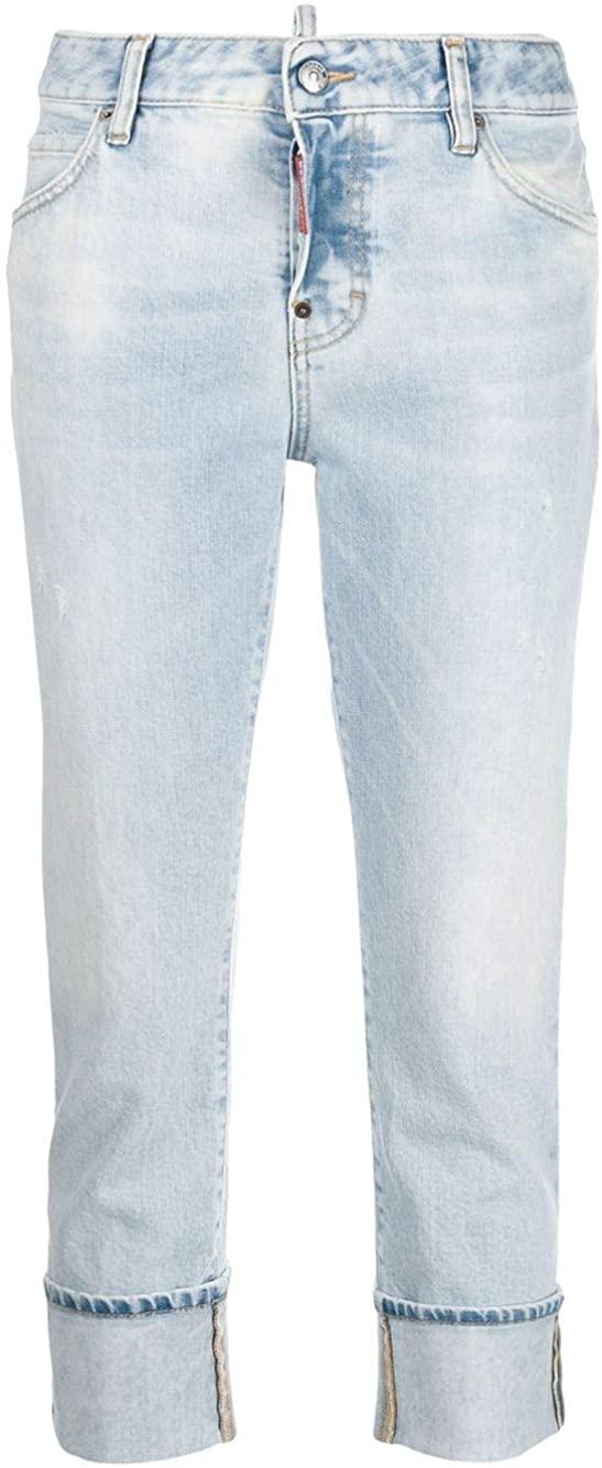 DSQUARED2 Luxury Fashion Woman S72LB0288S30663470 Light Blue Cotton Jeans   Spring Summer 20