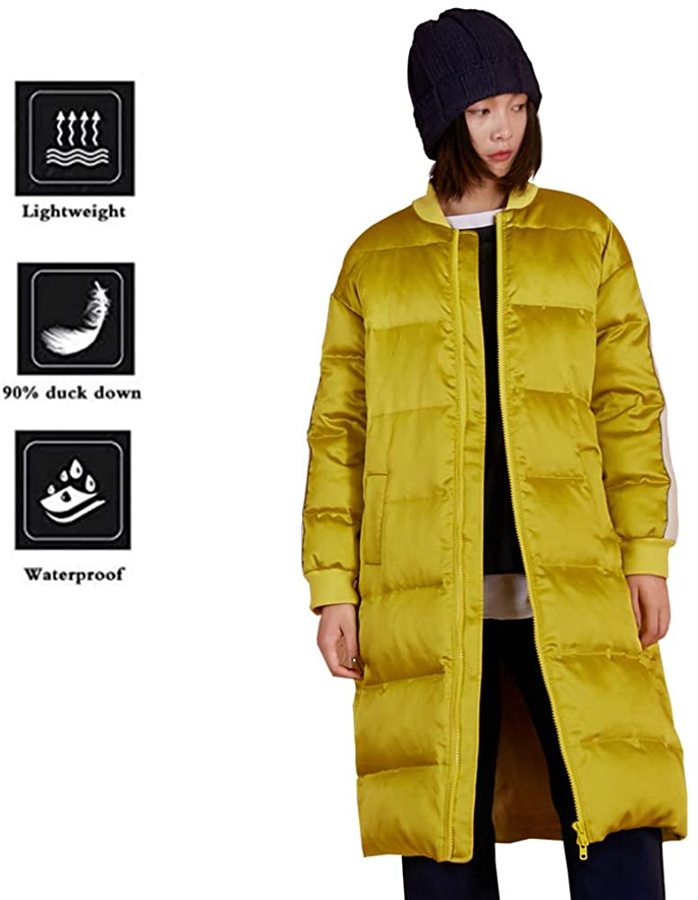 Elf Sack Women Hoodie Thickened Long Down Jacket Winter Maxi Down Parka Puffer Ski Outwear Coat