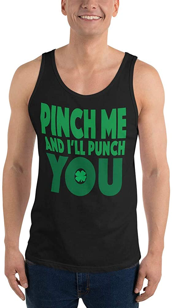 Dante's Inferno Pinch for a Punch St. Patty's Day Unisex Tank Top Black