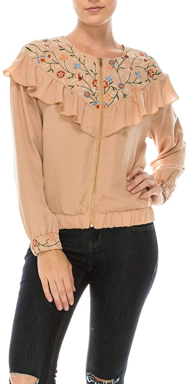 ROLYPOLY Women's Bomber Jacket