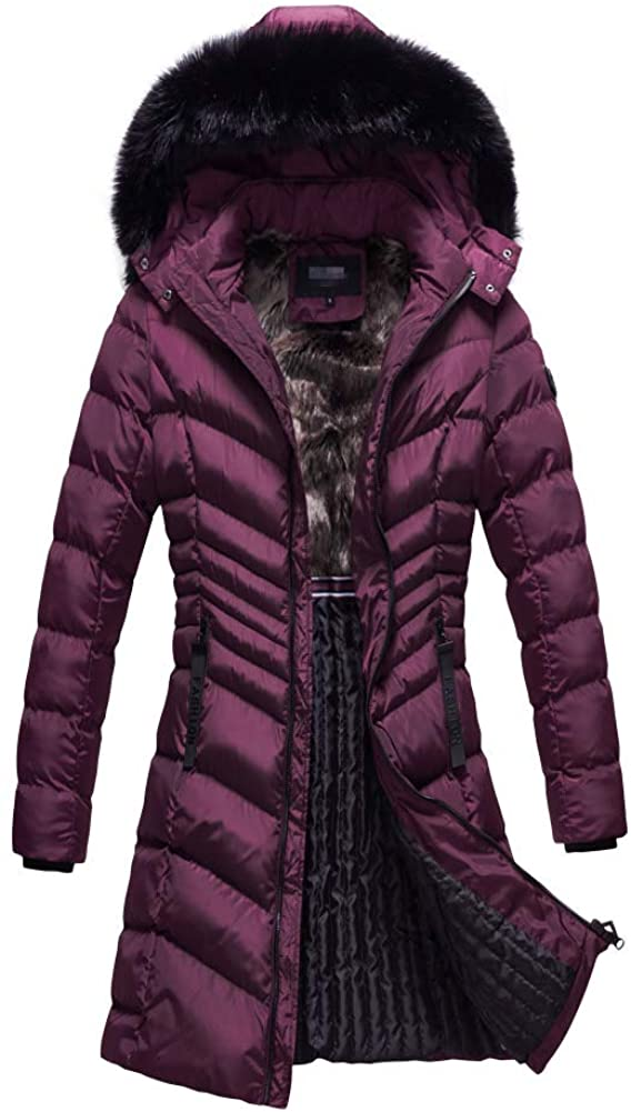 Beautiful Custom Simple Ladies Long Winter Wears Women Jacket