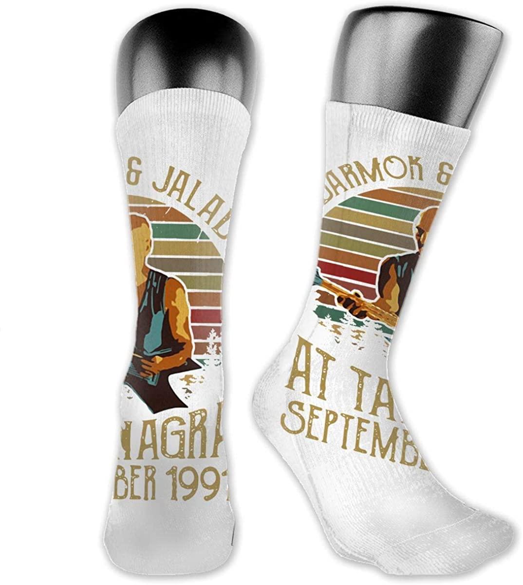 Darmok-Jalad Medium Long Socks Dress Hose Soccer Short Anklet For Training