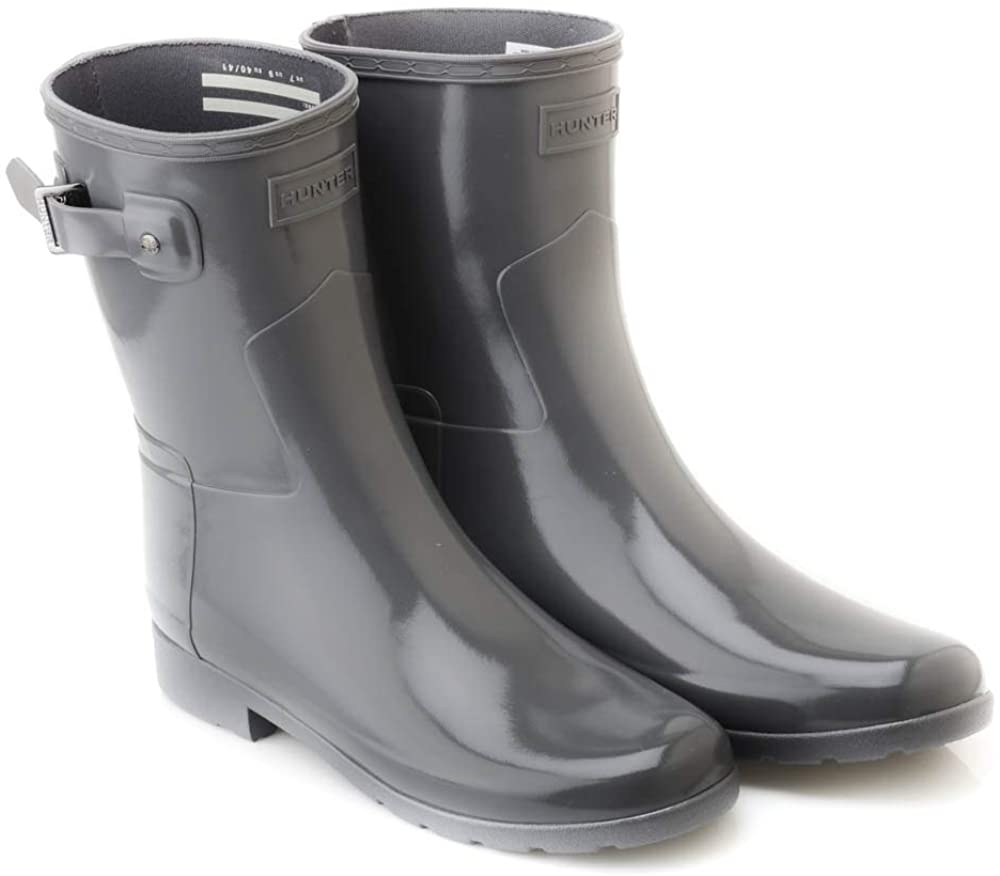 HUNTER Women Original Refined Short Gloss Rain Boot