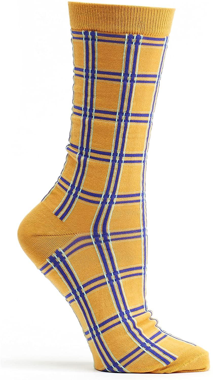 Ozone Design Inc Womens Ozone Masaii Plaid Crew Sock
